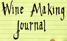 Wine Making Journal