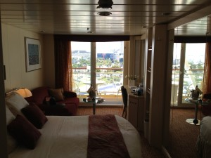 Our Stateroom on the Celebrity Constellation