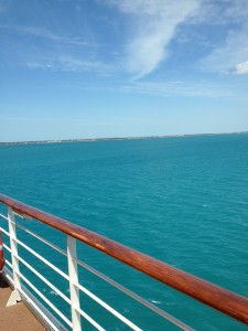 View from the Celebrity Constellation